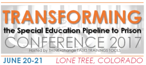Transforming Special Ed Pipeline to Prison logo