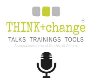 THINK+change podcast and vodcast logo